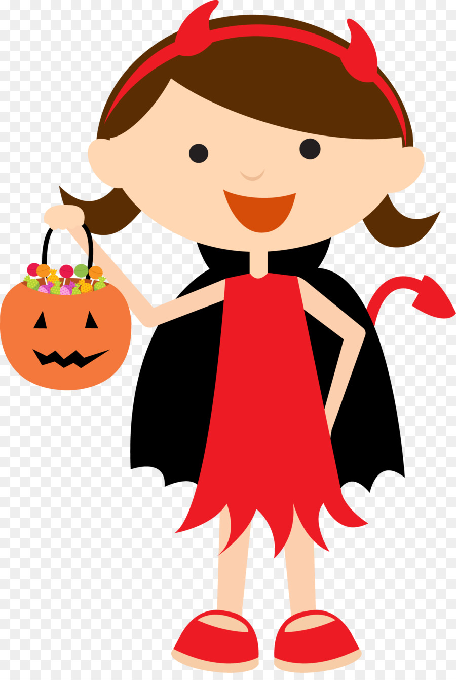 Halloween Costume Cartoon clipart.
