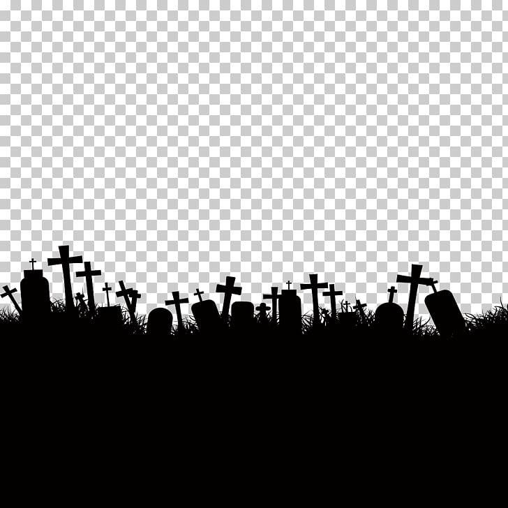 Cemetery Ghost Stock photography, Halloween graves.