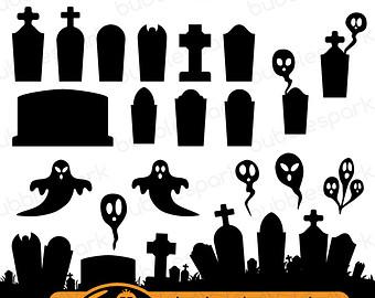 Free Cemetery Silhouette, Download Free Clip Art, Free Clip.