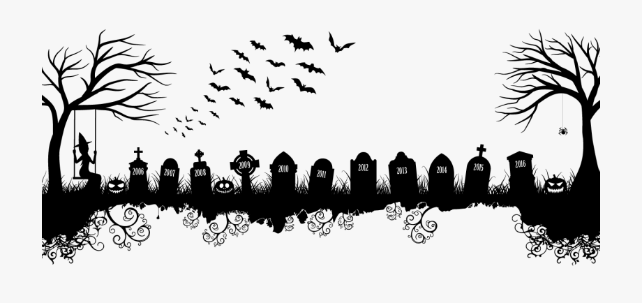 Graveyard clipart witch, Graveyard witch Transparent FREE.