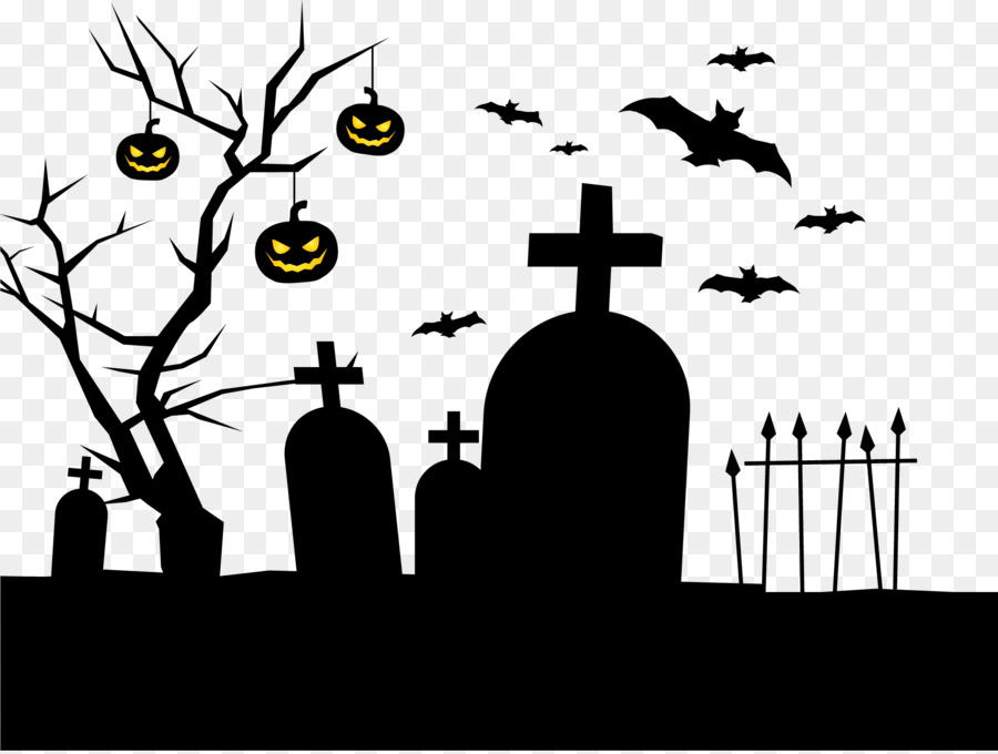 Free Cemetery Silhouette, Download Free Clip Art, Free Clip.