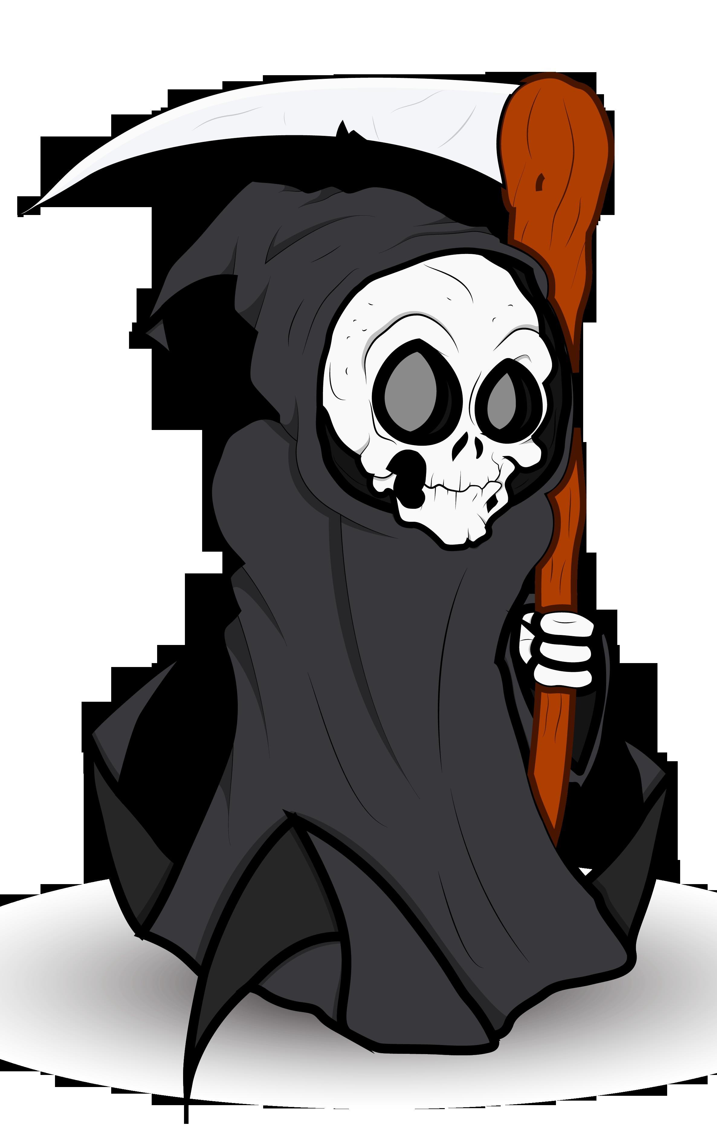 Halloween Grim Reaper PNG Clipart.