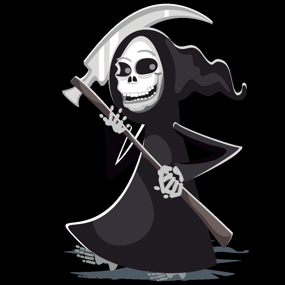 Grim reaper halloween clip art image #24168 in 2019.