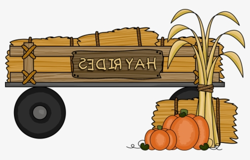 Free Hayride Clip Art with No Background.