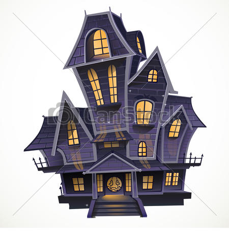 Haunted house Illustrations and Clipart. 4,001 Haunted house.