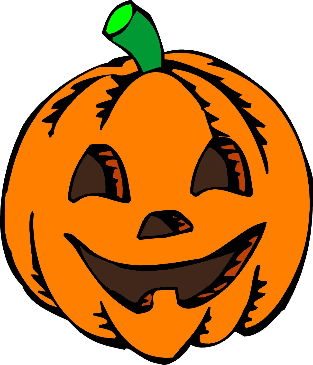 Halloween Pumpkin Clip Art.