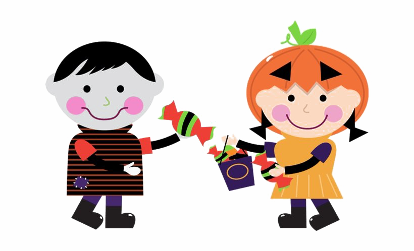 Halloween Kids PNG Clipart.
