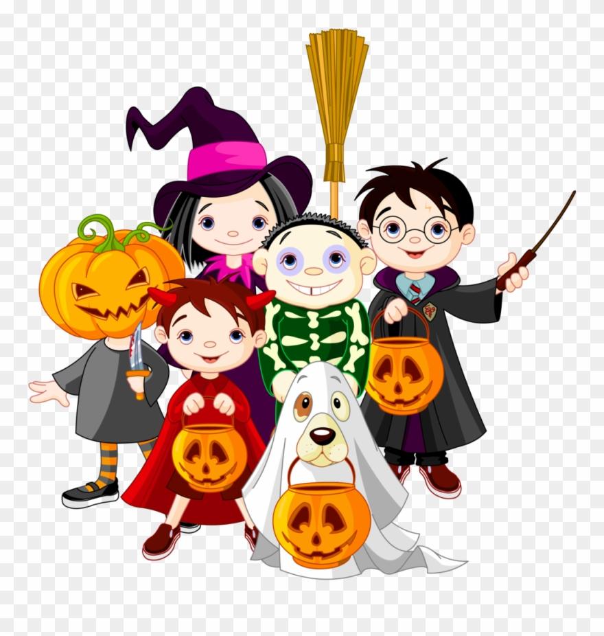 Childrens Halloween Clipart 6 Clip Art.