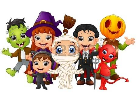 Kids Clipart Halloween.