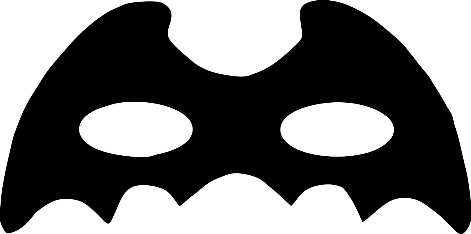 Superhero Mask Clipart#2049874.