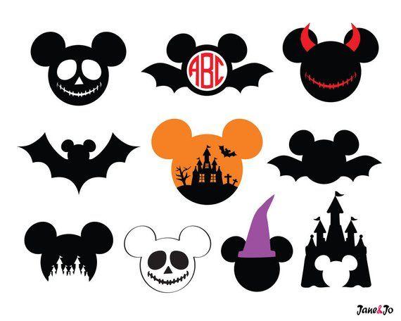 Mickey Halloween SVG,Mickey Halloween Vector,Mickey.