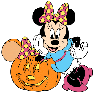 Minnie Mouse Halloween Clipart.