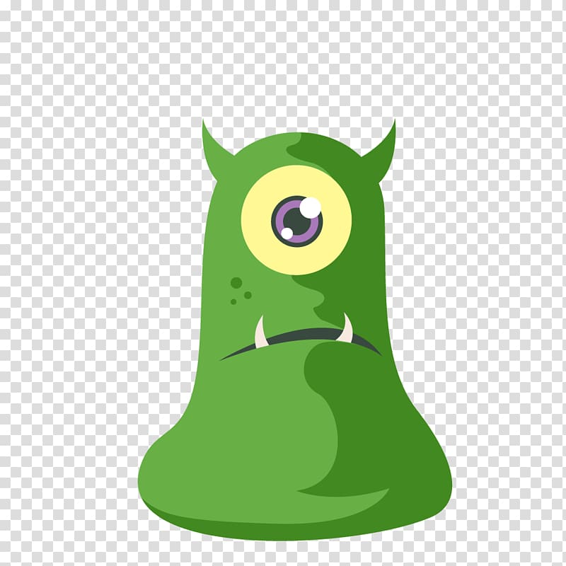 Monster Halloween Flat design, monsters university transparent.