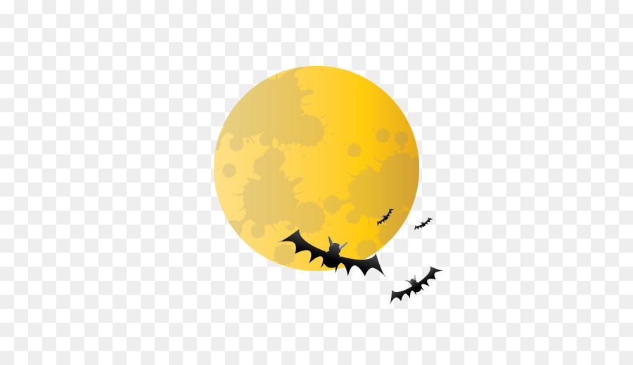 Halloween Full Moon png download.