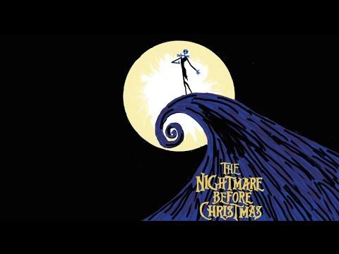 The Nightmare Before Christmas movie logo.