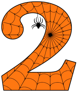 Printable Halloween Letters, Numbers, and Stencils (Free.
