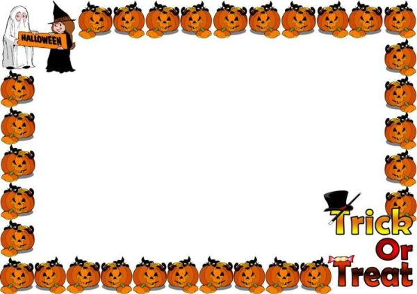 25+ Halloween Page Border Landscape Pictures and Ideas on Pro Landscape.