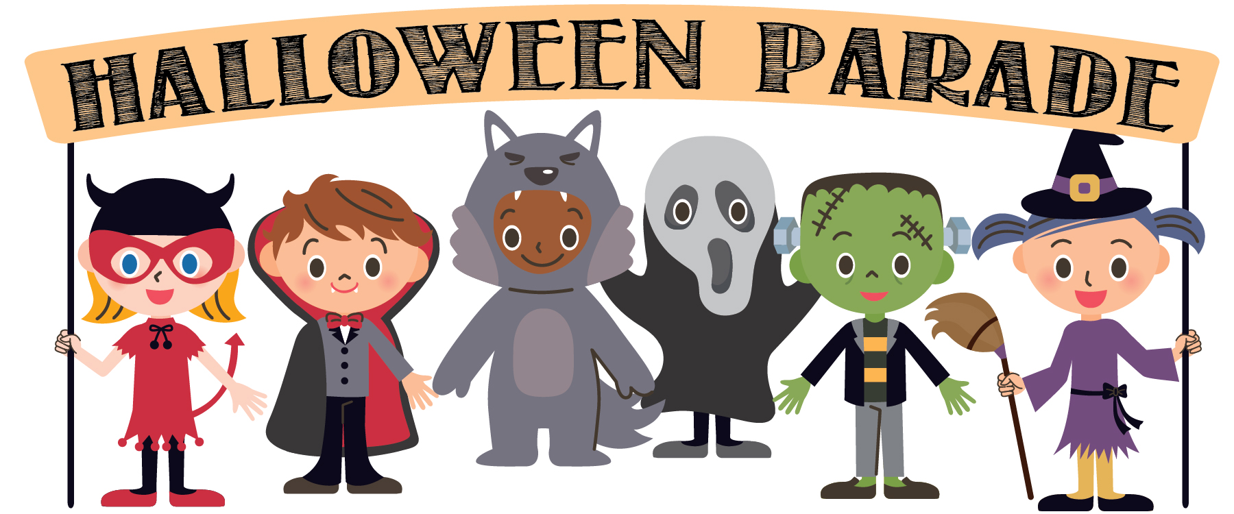 Halloween parade clipart 1 » Clipart Station.
