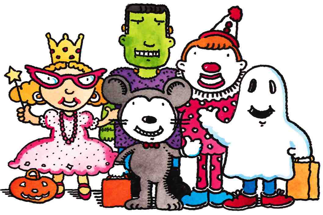 Halloween parade clipart free clipartxtras.