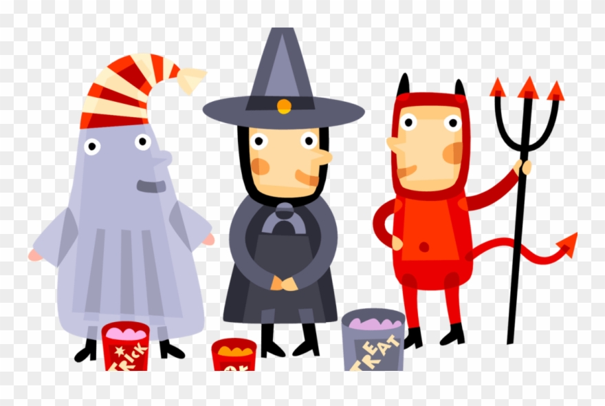 Immaculate Conception's Halloween Parade And Activities Clipart.