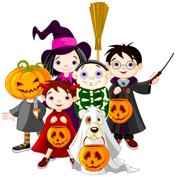 Halloween Party Clipart 6.