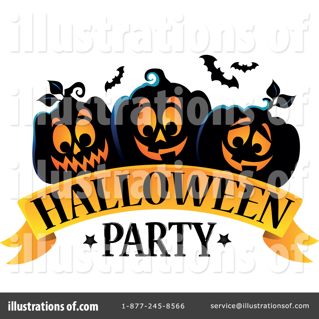 Halloween Party Clipart #1476605.