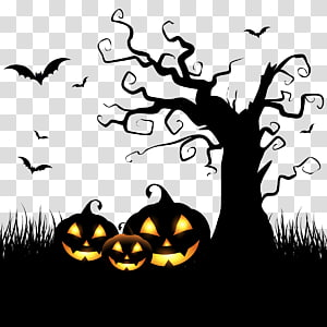 Halloween Party transparent background PNG cliparts free.