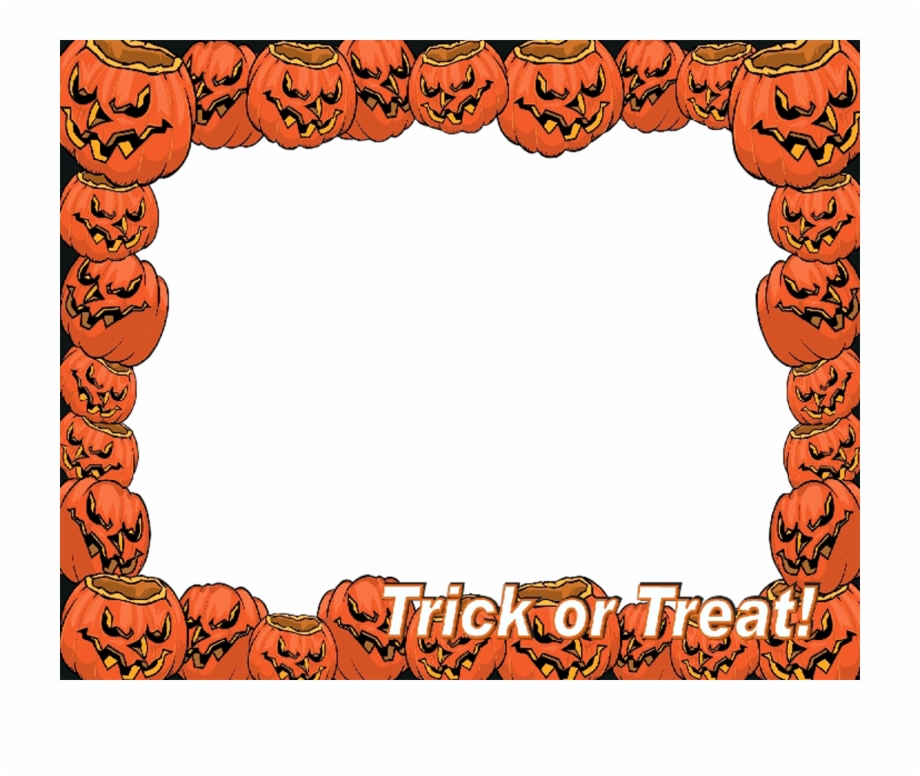 Frame Halloween Vector Download Png Free.
