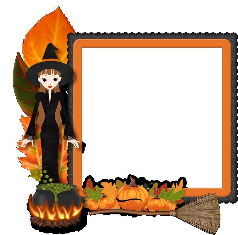 Best Free Frame Halloween Png Image #31331.