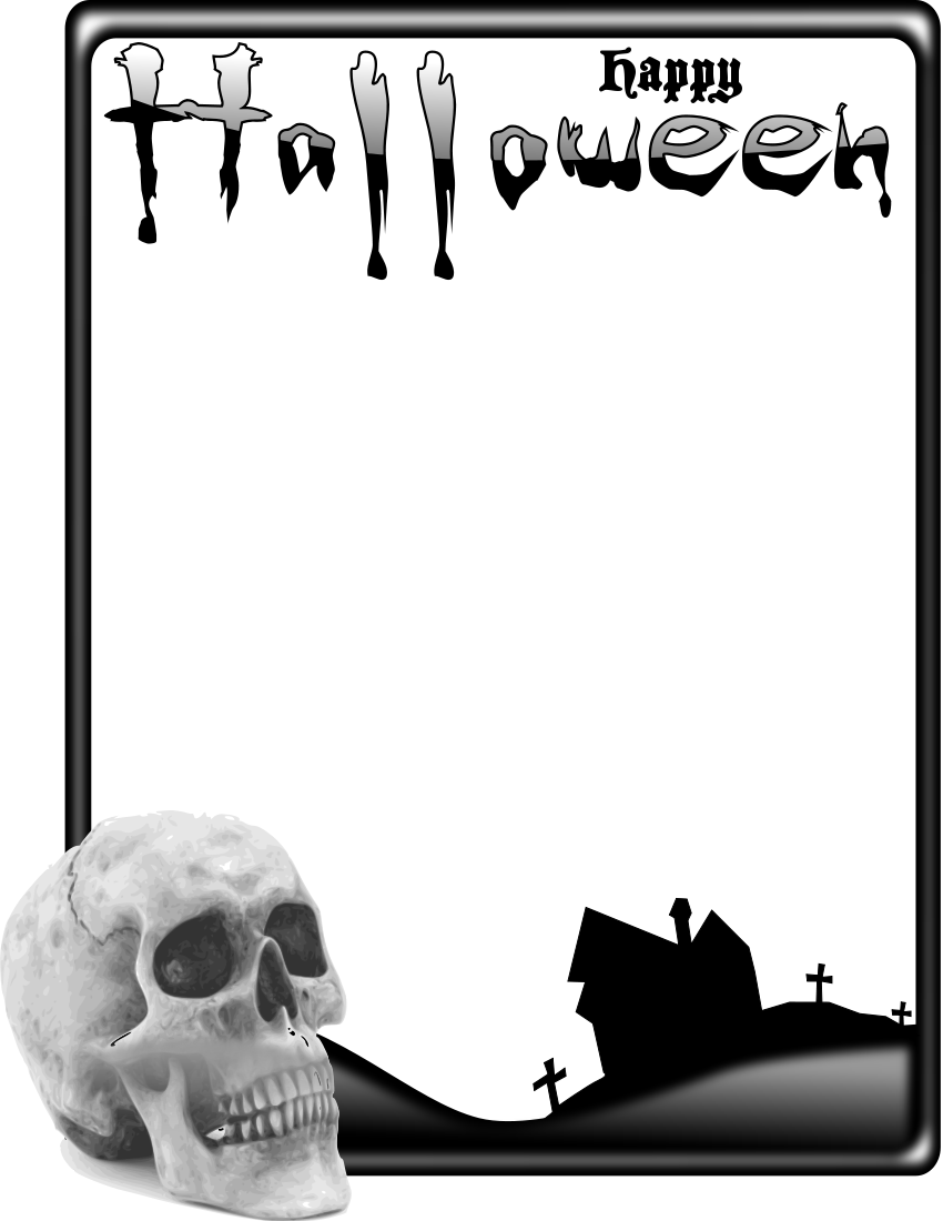Halloween Frame Png (+).