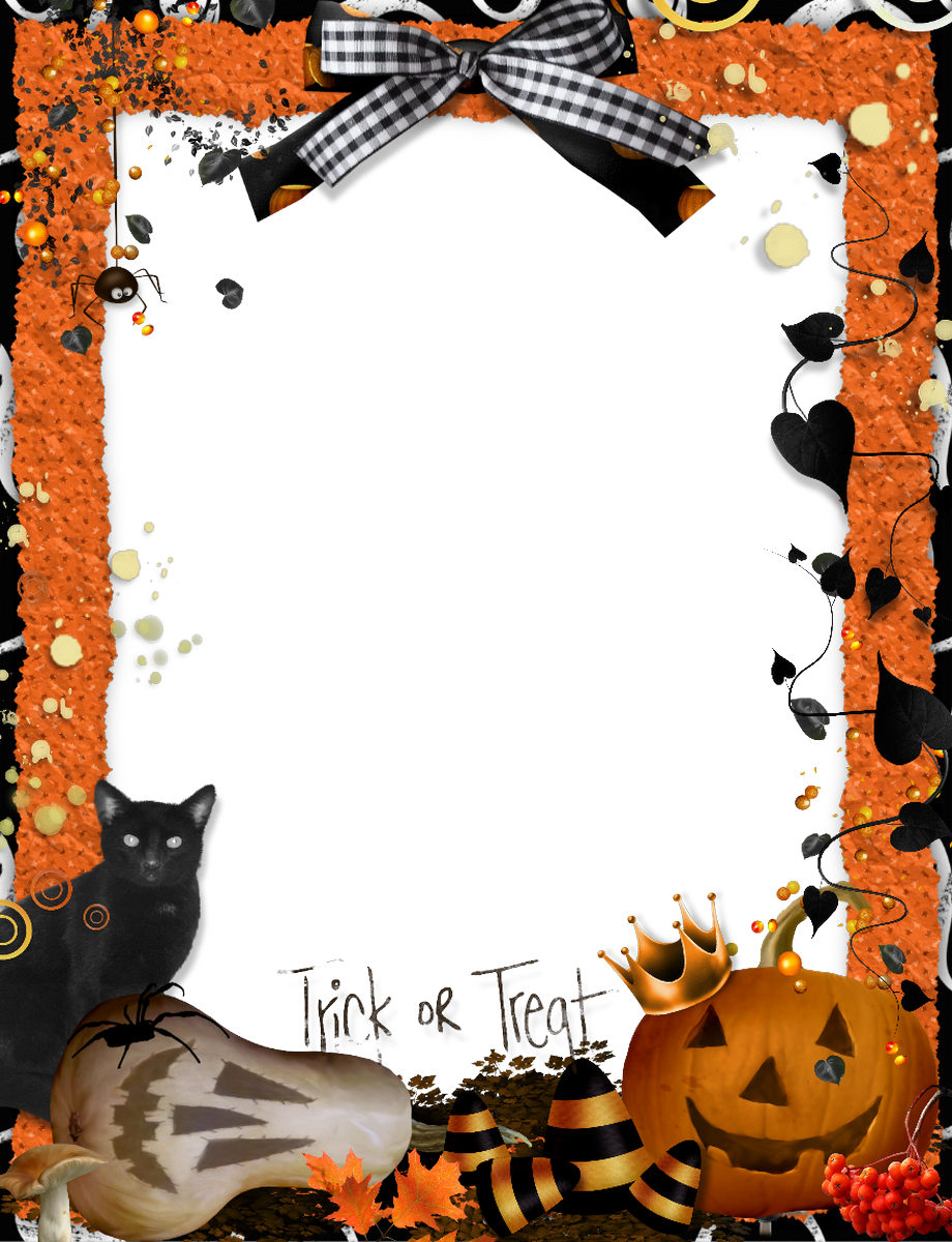 Halloween Picture Frames Trick.