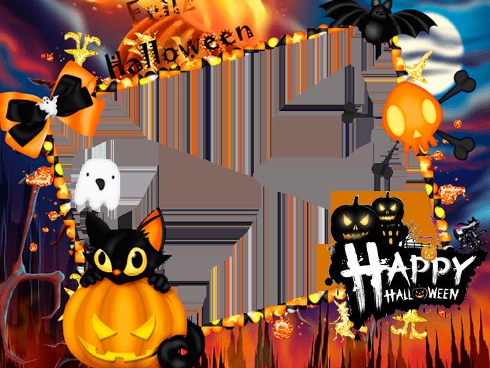 HD Halloween Frames.