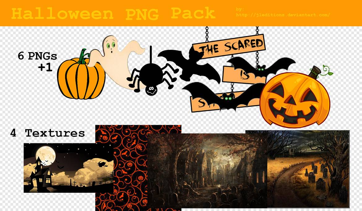 128. Halloween PNG Pack by JLEditions on DeviantArt.