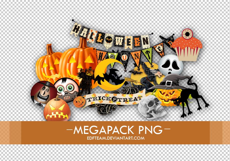 Halloween pngs +Megapack by EDFTeam on DeviantArt.