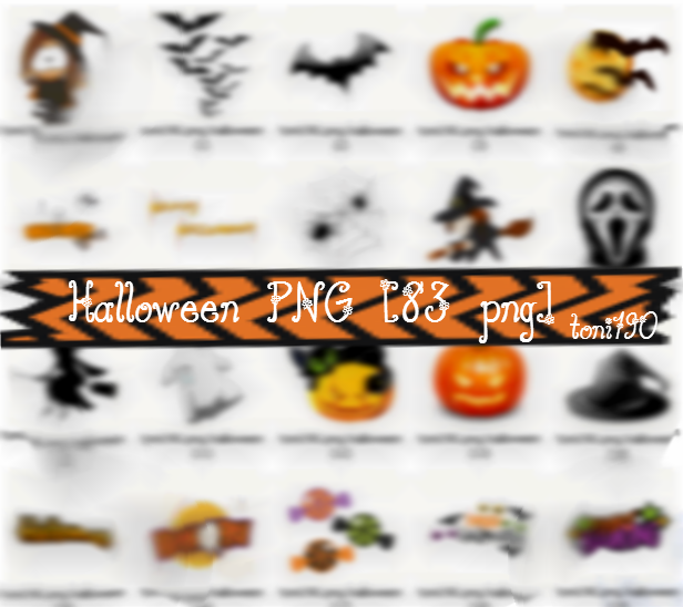 Halloween PNG Pack c: by toni190 on DeviantArt.