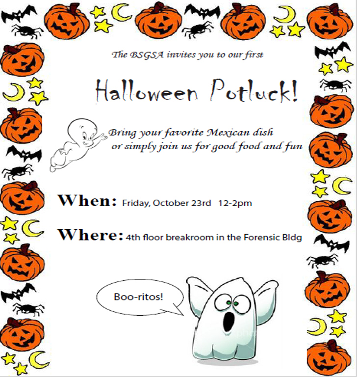A Ghoulish Halloween Potluck!.
