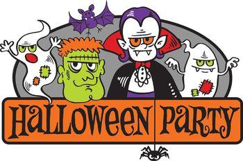 Halloween Meeting Clipart.