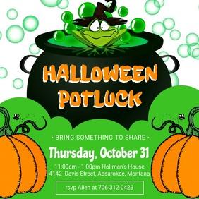 2,290+ Halloween Potluck Images Customizable Design.