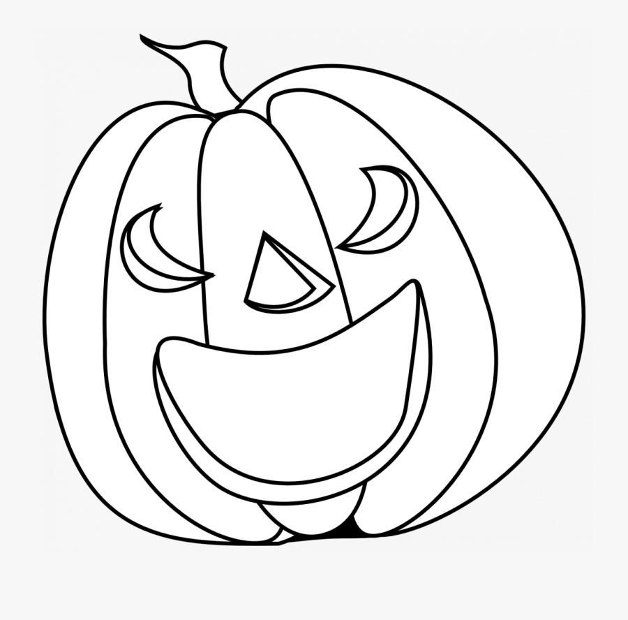 Halloween Pumpkin Clipart Black And White , Free Transparent.