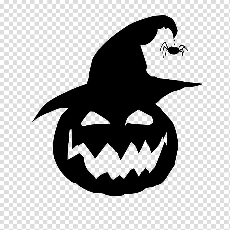 HALLOWEEN HANNAK, Halloween pumpkin black graphics.