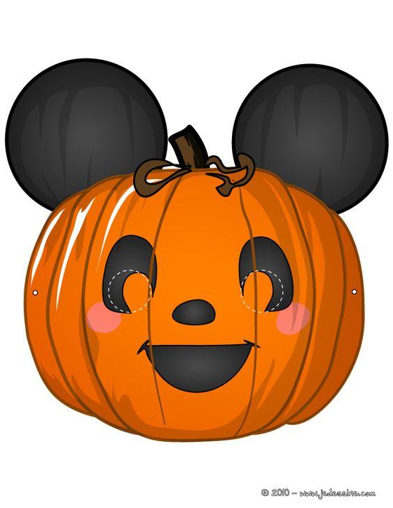 Halloween pumpkin printable clipart clipground - Masque de halloween a imprimer ...