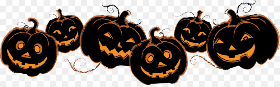 Cartoon Halloween Pumpkin png download.