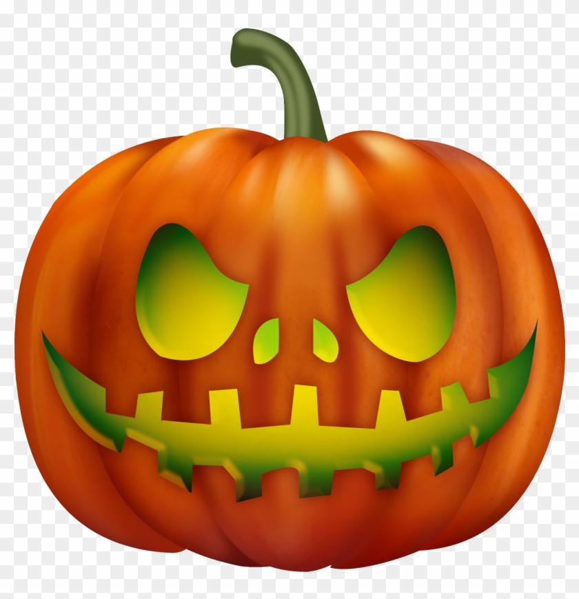 Halloween Pumpkins Png.