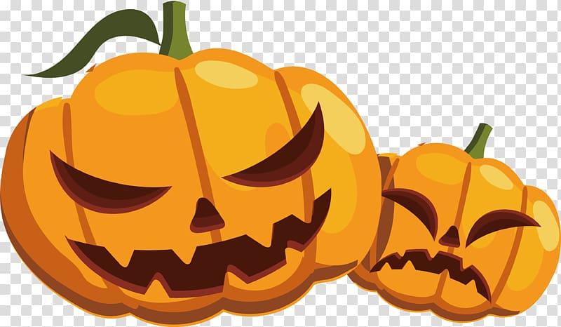 Calabaza Pumpkin Halloween, Halloween Pumpkin monster transparent.