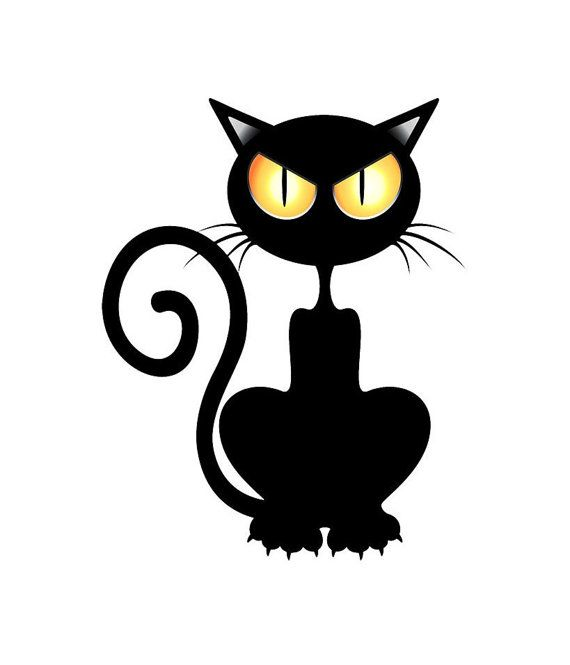 Halloween Eerie Cat Image Scary Cat Image by.