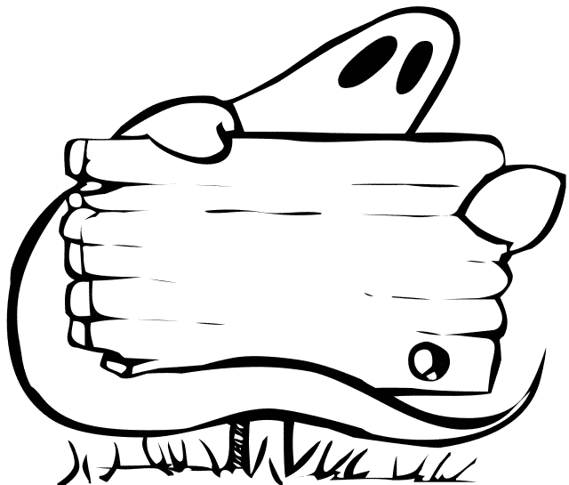 Free Halloween Signs Clipart.