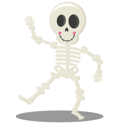 Halloween Skeleton PNG Picture.