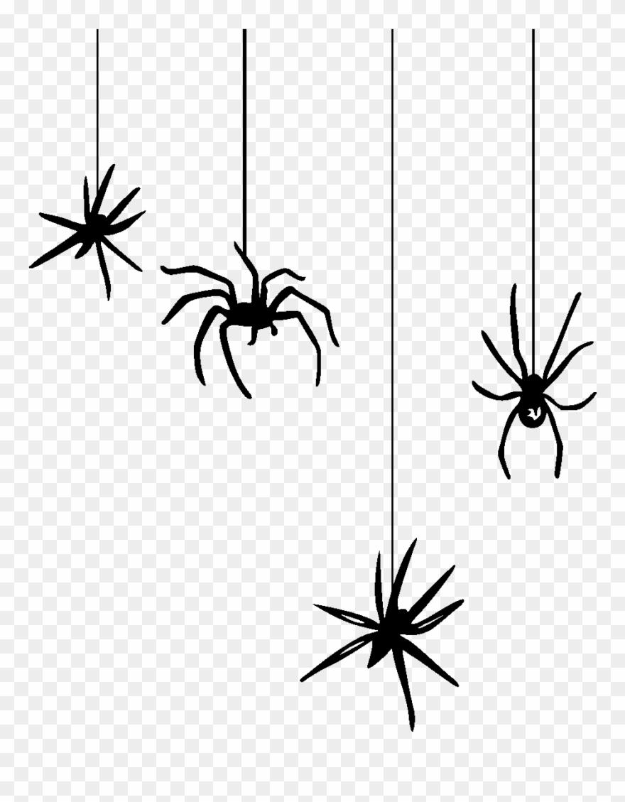 Spider Web Halloween Clip Art.