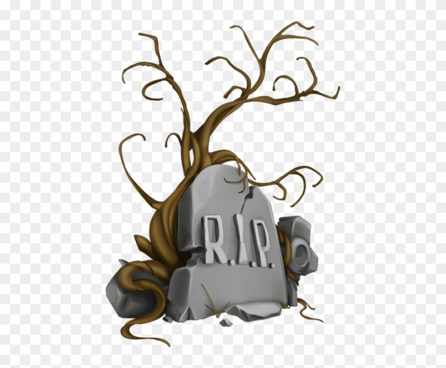 Free Png Halloween Rip Tombstone And Tree Png Images.