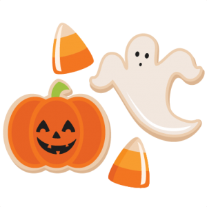 Miss Kate Cuttables Halloween Treats.